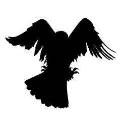 Eagle hunting vector
