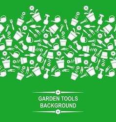 garden card green vector image
