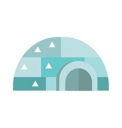 Eskimo house vector image vector image