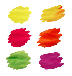 blots big set vector image