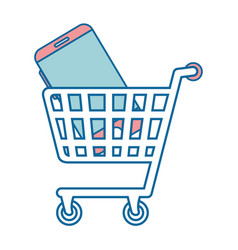 buy online shopping vector image