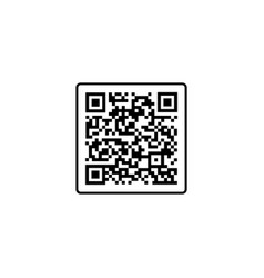 Qr code scanner icon for web or appstore design vector
