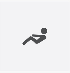 To do abs icon vector