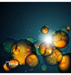 abstract amber background vector image