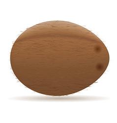 coconut 01 vector image