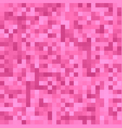 pink pixel square tiled mosaic background - vector image