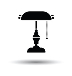 Writers lamp icon vector image vector image