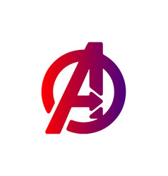Avenger logo graphic icon symbol icon graphic ele vector