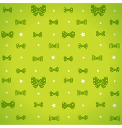 bow pattern vector image