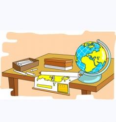 class room vector image
