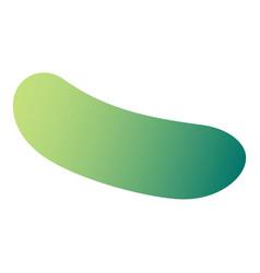 cucumber icon isometric style vector image