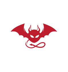 Devil horn icon design vector
