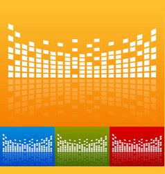 eq equalizer graphics vector image