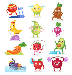 Fruits sportsman fruity expression vector