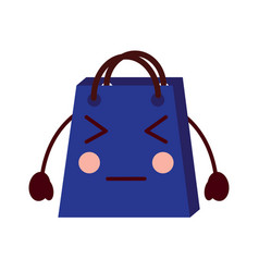 kawaii gift shop bag cartoon character vector image