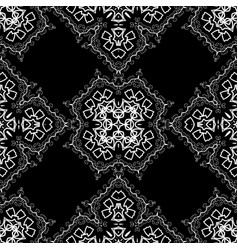 Seamless texture on white vector