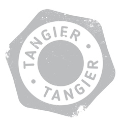 Tangier stamp rubber grunge vector