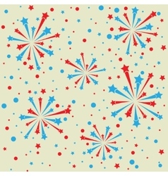 Firework frame vector image vector image