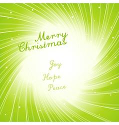 modern christmas invitation vector image