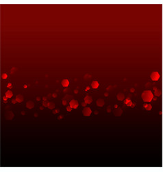 abstract blurred soft focus bokeh of dark red vector image