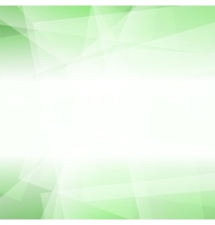 Abstract Green Polygonal Background vector