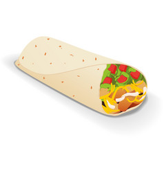 Burito vector