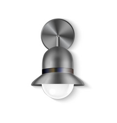 Design sconce modern and elegant lighting vector