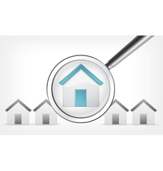 Find Home vector image