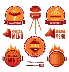 Grill and bbq vector