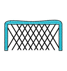 ice hockey goal vector image