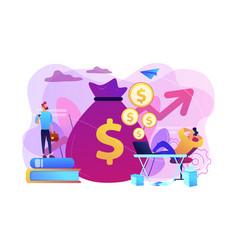 Passive income concept vector