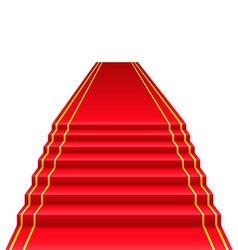 Red carpet 01 vector