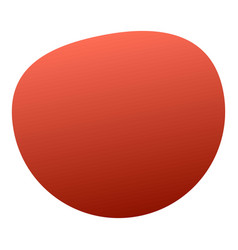 red tomato icon isometric style vector image