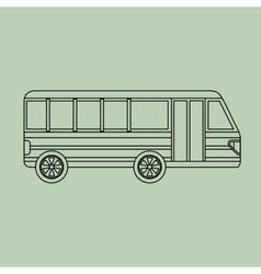 Vehicle icon design vector