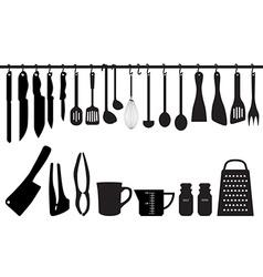Kitchen Utensils vector image vector image