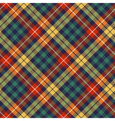 Colors check plaid seamless pattern vector image vector image