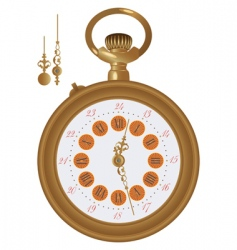 old watch vector image