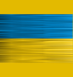 concept ukrainian flag yellow blue background vector image