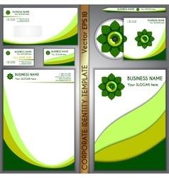 Corporate brand template vector