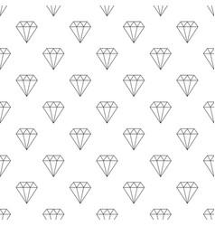 diamond pattern seamless vector image
