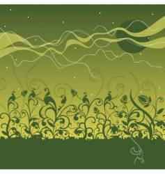 field design vector image