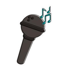 microphone record icon image vector image