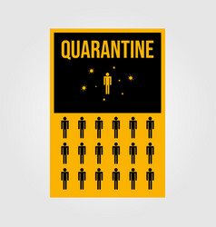 Minimalist quarantine human isolation for viruses vector
