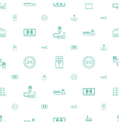Port icons pattern seamless white background vector