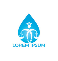 pure law logo design vector image
