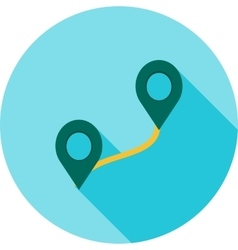 Route II vector image