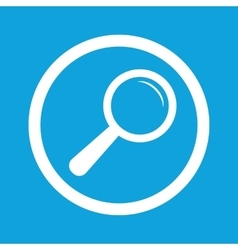 Search sign icon vector