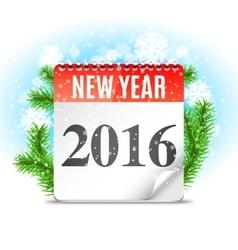 New Year Calendar vector image vector image