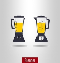 Blender icon set vector image