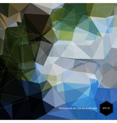 Abstract bright geometric polygonal background vector image